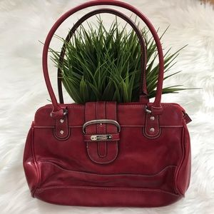 Rosetti red hand bag
